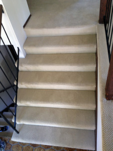 After Stair Carpet Cleaning